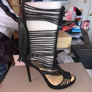 'Elista' Leather Gladiator Sandal